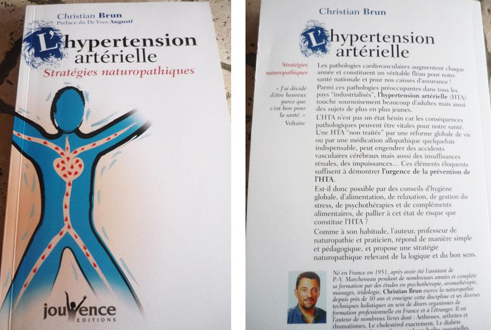 L'HYPERTENSION ARTERIELLE de Christian BRUN - Corinne..